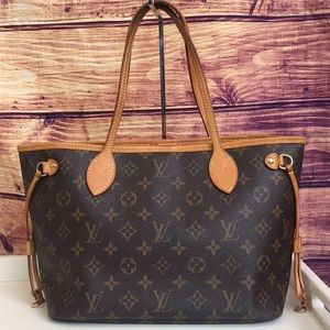 Louis Vuitton Neverfull PM Monogram Tote Bag